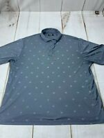 Ben Hogan Performance Mens 2XL Activewear Short Sleeve Collared Polo Dress Shirt
