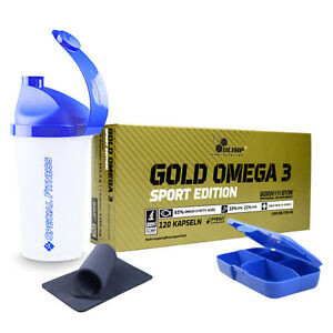 11,11€/100g ++ Olimp Omega 3 Gold Sport Edition 120 Kapseln + Bonus ++