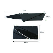 2019 Credit Card Folding Razor Sharp Wallet Knife survival tool thin fruit knife