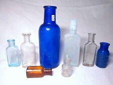 Medicine Lot of 8 - Caldwell, Newark NJ, Bromo, etc - Vintage