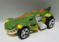 Hot Wheels Edge Glow T-Rexstroyer Toy Car Lights & Sound Dinosaur T-Rex Vehicle