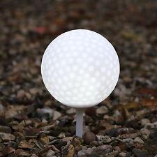 LED Garten Gehweg Licht Golfball mit Pfahl - weiß von PK Green