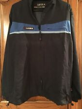 Legea Blue Track Suit With Concealed Hood in Collar And Is Detachable Size L