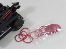 Carrera 124/Exclusiv - 15 Stück - Gummi-Ringe für den Schwingarm NEU! (F5588)