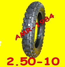 GOMMA CROSS  2.50-10 MALAGUTI GRIZLY 50 E MINICROSS  ARTIGLIATA 1 COPERTONE