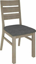 Wood & Fabric Living Room Chairs