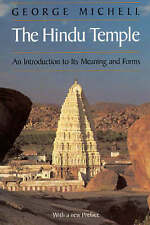 USED (GD) The Hindu Temple: An Introduction to Its Meaning and Forms by George M