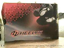 Heelys Hurricane Shoes White Black Blue Youth Size 2 Style # 7224 Skate Roller