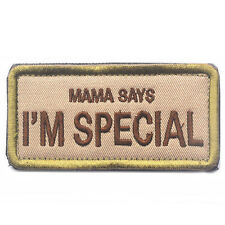 I'M SPECIAL USA ARMY 3D EMBROIDERED MILITARY TACTICAL INSIGNIA PATCH