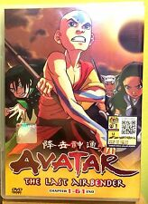 Avatar: The Last Air Bender: Books 1 2 3 (Chapter 1 - 61 End) ~ 4-DVD SET ~Anime