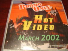 PROMO ONLY HOT VIDEO DVD MARCH 2002