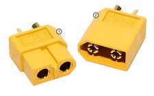 1 paire Connecteurs XT60 60A batterie Lipo 7,4v 11.1v 18.5v vendeur PRO FRANCE