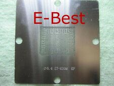80*80 720QM SLBLY 2620M SR03F 2860QM 2630QM I7 CPU BGA Reball Stencil Schablone