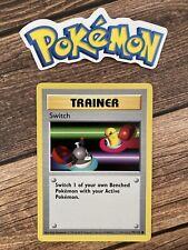 ⭐️ Error OWN Switch Base Set Shadowless Pokemon Card Nintendo 1999 Wizards 🎏