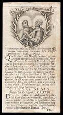 santino incisione 1700 SS.ABDON E SENNEN MM. IN PERSIA