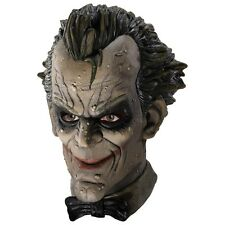 The Joker Dlx Costume Mask Adult Arkham City Asylum Halloween Fancy Dress Acsry