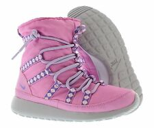 040284a796a3 Nike Roshe Hi Sneakerboot Purple Canvas Ankle BOOTS Shoes Size 5y