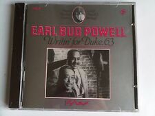BUD POWELL WRITIN' FOR DUKE ELLINGTON RARE 1963 CD KANSAS FIELDS FRANCIS PAUDRAS