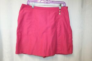 IZOD Women's Pink Skorts Golf/Tennis/Hiking Size 12
