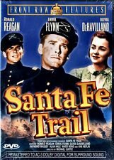 NEW DVD - SANTA FE TRAIL - Ronald Reagan, Errol Flynn, Olivia de Havilland 1940