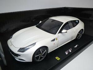 Hot Wheels/Elite W1119  Ferrari  FF  (perlmutt-met.)  1:18  OVP !