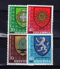 SUISSE SWITZERLAND Yvert  n° 1117/1120 neuf sans charnière MNH
