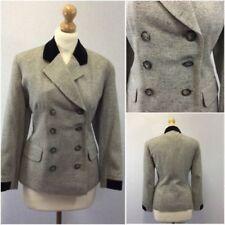 Cappotti e giacche da donna grigio formale in misto lana