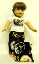 Pittsburgh Steelers Theme PJ's For 18 Inch Doll