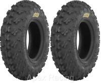 "NEW set (2) ITP 21"" 21x7-10 Holeshot GNCC Front Tires 6 PLY Sport Quad ATV"