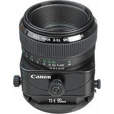 Canon TS-E 90mm f/2.8 Tilt-Shift Lens
