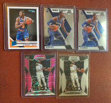 RJ BARRETT ROOKIE LOT( 5)Cards NY KNICKS 2019-20 MOSAIC ,PRIZM PINK ,DONRUSS RR