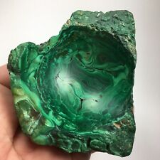 More details for malachite vintage bowl pin dish sphere or crystal ball holder