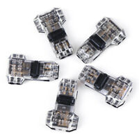 5Pcs 2 Pin T Shape Universal Compact Wire Wiring Connector Terminal Block BE PL