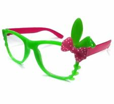 ANT Bunny Frame Design Kids Fashion Glasses Eyewear - GREEN