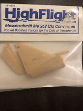 Highflight 1/48 #4835 Messerschmitt Me 262 Cla Conversion Resin