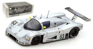Spark 43LM89 Sauber C9 #63 Le Mans Winner 1989 - Mass/Dickens/Reuter 1/43 Scale