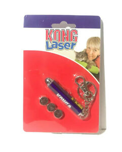 KONG Cat Laser Pointer Cat Toy - Comes with Batteries - Chase, Hunt, Exercise