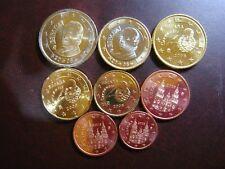 ESPAÑA 2008 SERIE 8 MONEDAS EURO
