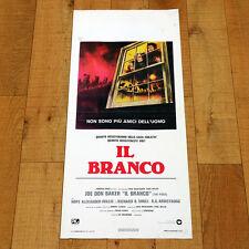 IL BRANCO locandina poster The Pack Joe Don Baker Richard B. Shull Dogs Cani V24