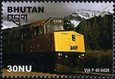 VIA RAIL (Canada) GM EMD Class F40PH-2 No.6428 Diesel-Electric Train Stamp