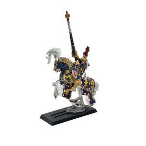 BRETONNIA Hero Converted #1 METAL Painted Warhammer Fantasy