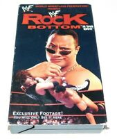 WWF - Rock Bottom: In Your House (VHS, 1999)