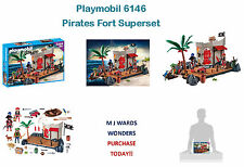 Playmobil 6146-pirates fort surensemble – super set-poupées et playsets