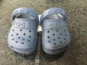 Crocs Hilo clogs. Infant size 4. Roomy fit. New