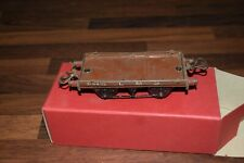 Hornby Trains LMS Flat Truck O Gauge original 1949/54 boxed