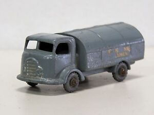 LESNEY MATCHBOX 38 Diecast KARRIER REFUSE COLLECTOR 1957 Used No box