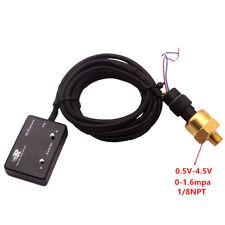 1/8 NPT Pressure Meter Oil Pressure Gauge Oil Press Guage With Sensor Blue 12V