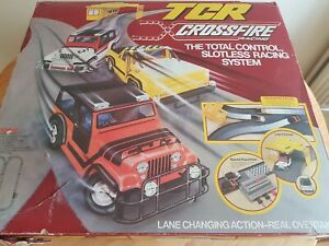 tcr total control racing Crossfire set Rare