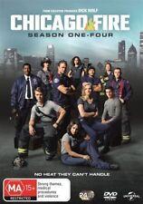 Chicago Fire : Season 1-4 (DVD, 2017, 24-Disc Set)