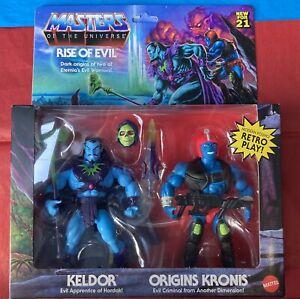 Keldor Kronis Masters of the Universe Origins 2 Pack Target MOTU *See Photos*